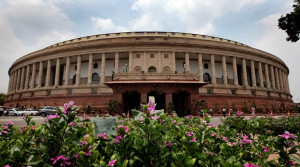 Parliament house in New Delhi on July 24th 2015. Express photo by Ravi Kanojia.