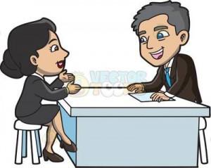 Deluxe Interview Cartoon job interview clipart cartoon images
